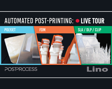 PostProcess Technologies Automated post-printing Live Tour
