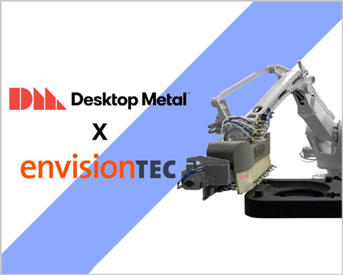 Desktop Metal to acquire Envisiontec